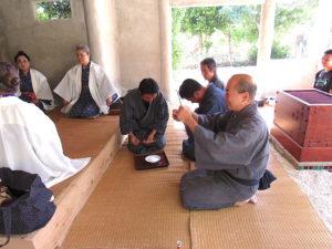 20180406_上間学_竹富公民館役員交代の儀式 4