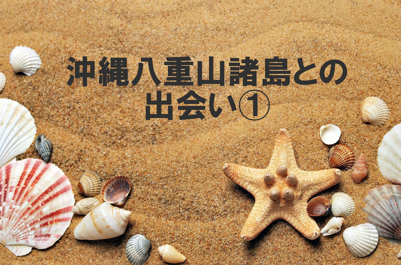 沖縄・八重山諸島との出会い①